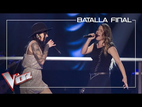 Giosy y Viki Lafuente cantan 'The show must go on' | Batalla final | La Voz Antena 3 2019