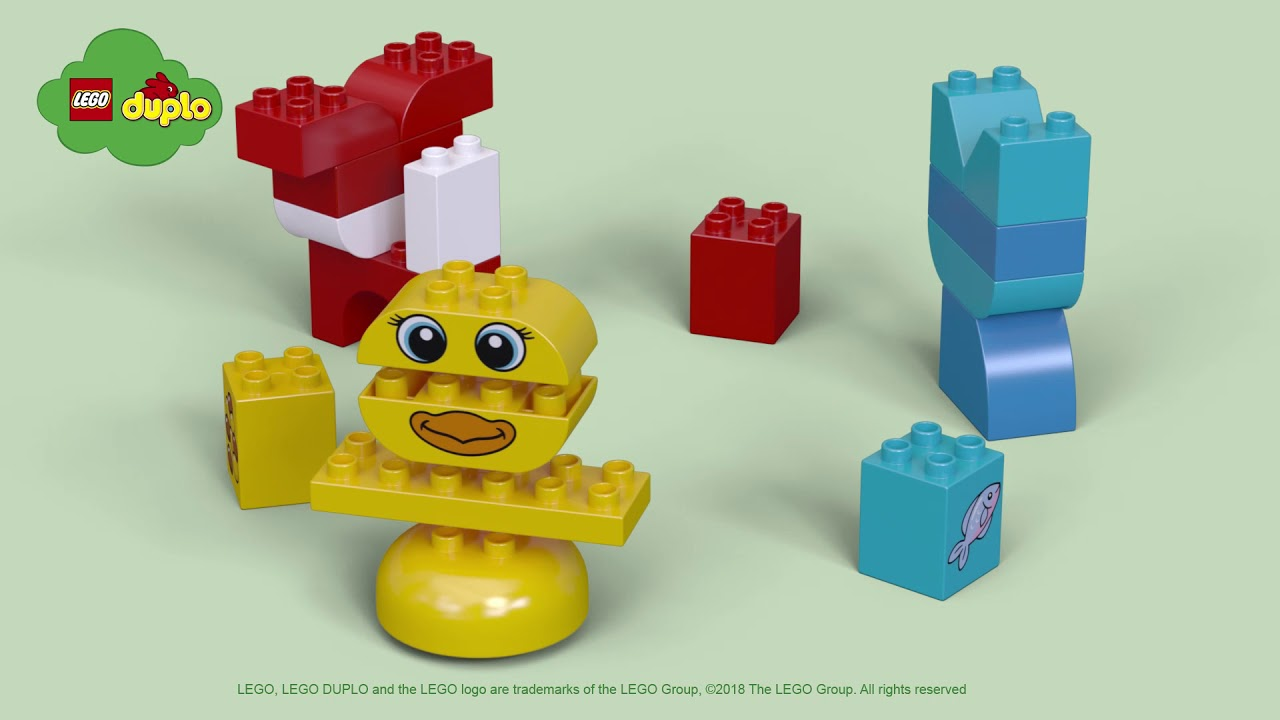 My First Puzzle Pets - LEGO DUPLO - 10858 - Product Spin