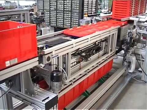 PTS Automation GmbH Kistenentstapler | Klappkisten