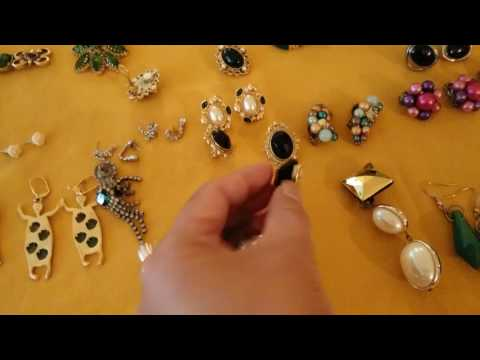 VINTAGE JEWELRY COLLECTION PART 3 FEATURING RINGS AND NECKLACES