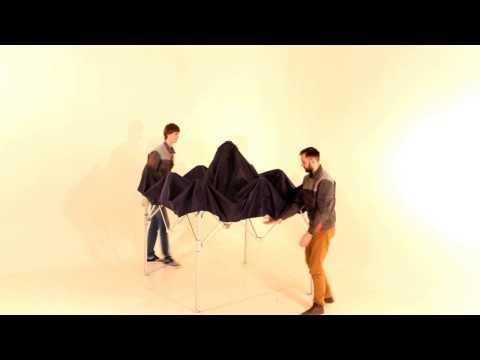 Инструкция как сложить шатер