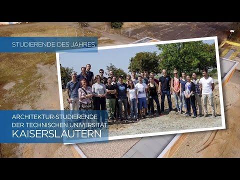 Studierende des Jahres - Architektur-Studierende der Technischen Universität Kaiserslautern