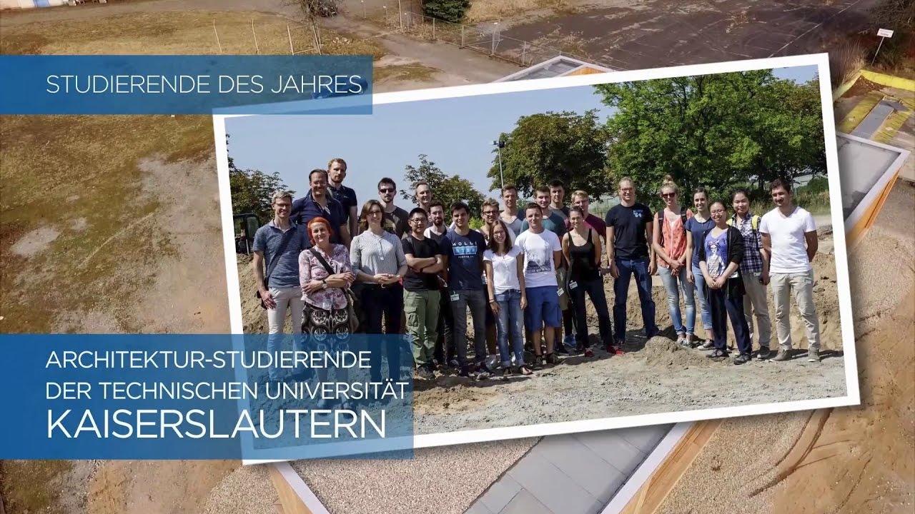 Studierende Des Jahres Architektur Studierende Der Technischen