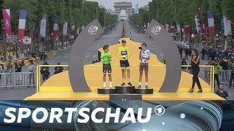 Tour de France - Die Siegerehrung