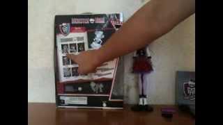 Обзор на куклу Monster High Operetta Pictur Day!))))