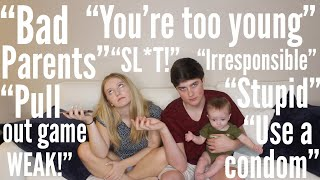 Teen Parents React To Hate Comments