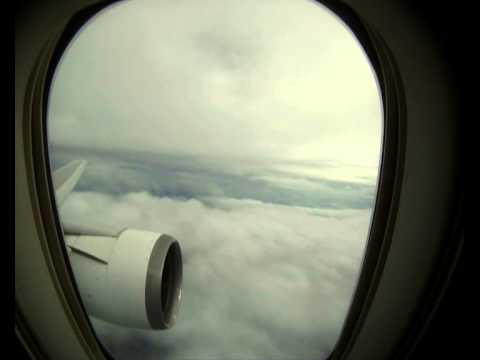 Boeing 767-300ER Takeoff From Miami IN TROPICAL STORM ISAAC (Full climbeout)