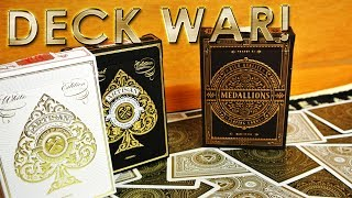 Deck War - Medallions Playing Cards VS Artisan Playing Cards