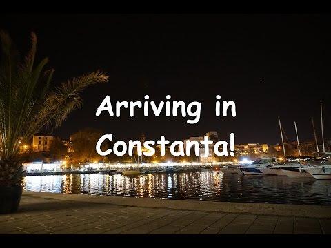 Arriving in Constanta