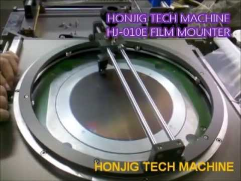 HJW010E film mounter tape mounter wafer mounter