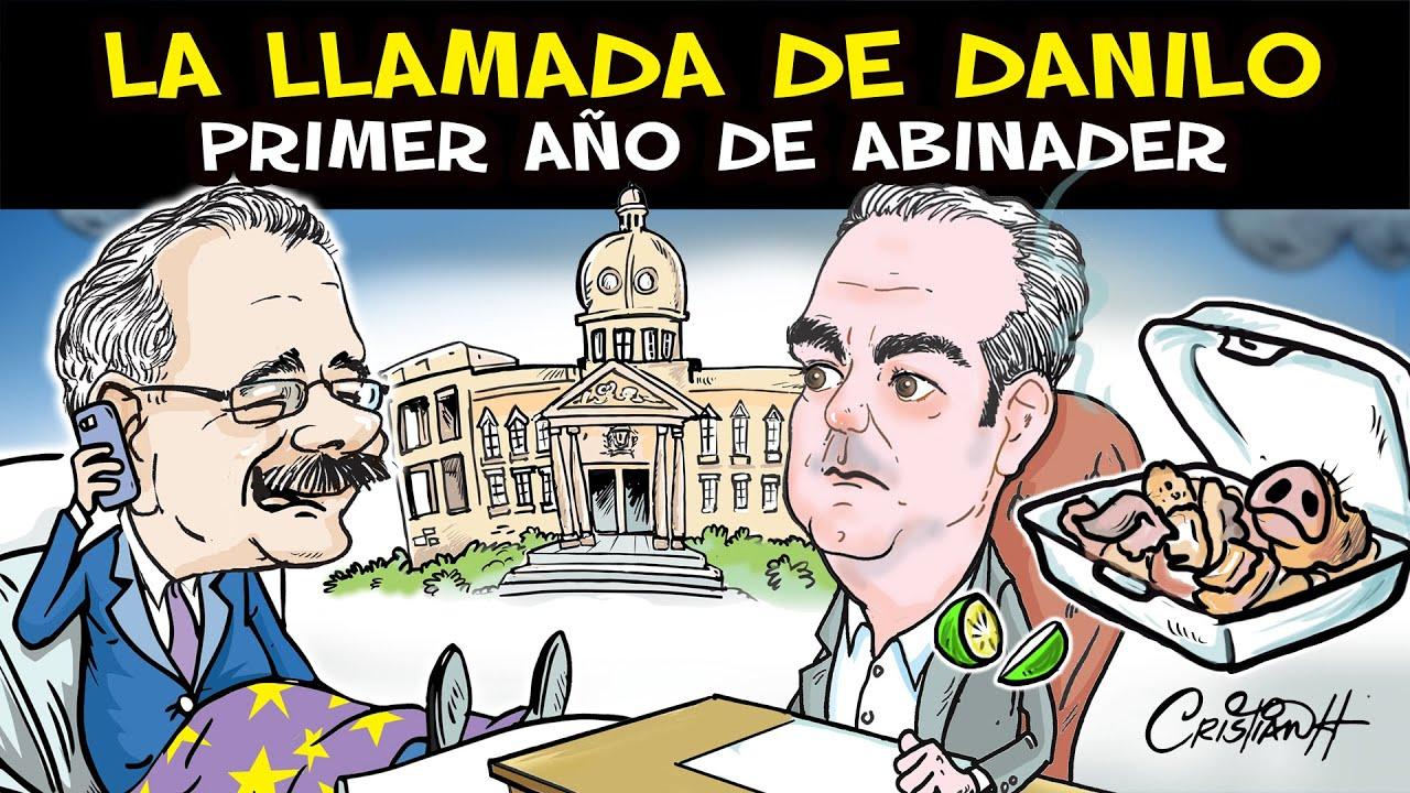 Danilo llama a Luis Abinader en el primer año de gobierno. #cristiancaricaturas