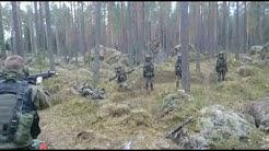 VARUSMIESTEN TELOITUSVIDEO (parempilaatuinen video), Karjalan Prikaati, Vekaranjärvi