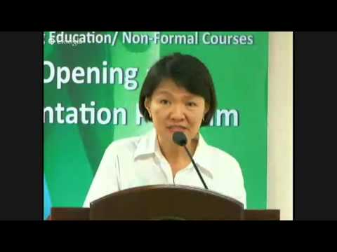 FMDS Continuing Education OPENING/ORIENTATION PROGRAM (18 July 2015)