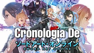 CRONOLOGÍA De Sword Art Online (Anime)