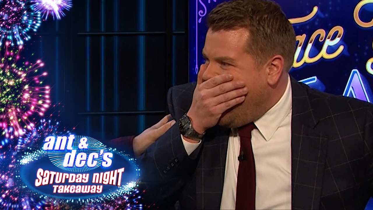 James Corden Pranked By Ant & Dec On The Late Late Show - Saturday Night Takeaway #1