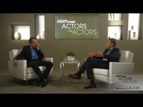 Ralph Fiennes & Christoph Waltz at the Variety Studio: Actors on Actors presented by Samsung Galaxy
