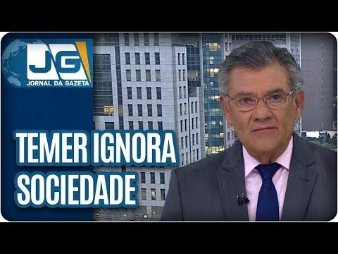 Rodolpho Gamberini / Presidente Temer ignora sociedade
