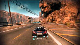 Split/Second Online Gameplay