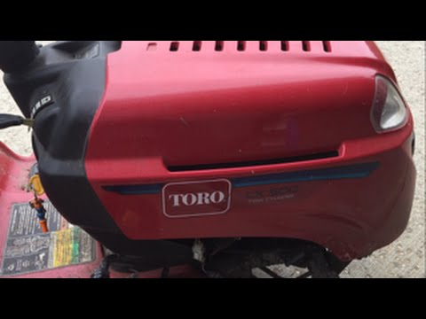 Changing The Spark Plugs In A Toro LX500