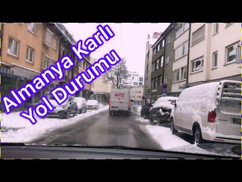 ALMANYA KARLI YOL DURUMU / DEUTSCHLAND SCHNEE