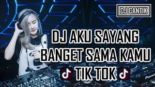 DJ (SOUQY) Aku Sayang Banget Sama Kamu 2018 Original Remix ⚫HD