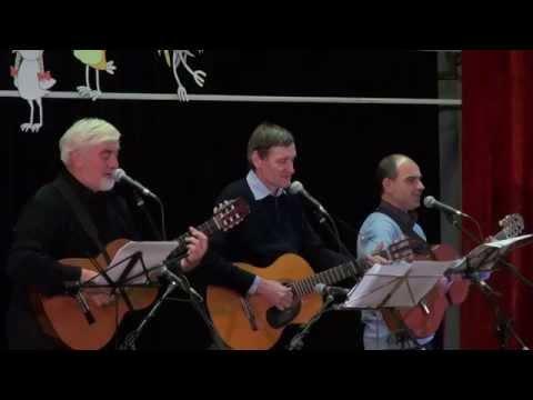 Тихо по веткам шуршит снегопад - Туристские песни - полная версия