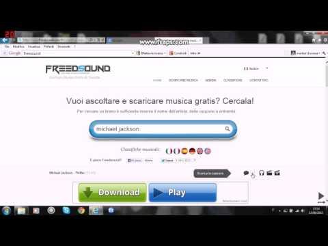 freedsound scaricare musica gratis da youtube