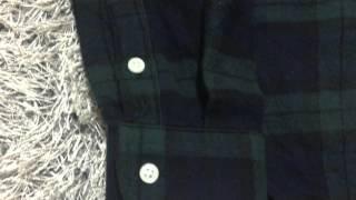 폴로 데님앤서플라이 스타일 타탄체크 셔츠 구매후기