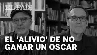 El 'alivio' de no ganar el Oscar