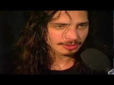Chris Cornell interview HQ at Pinkpop 1992