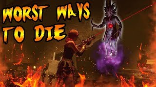Top 5 WORST Ways to Die! Call of Duty Zombies Black Ops 3, BO2, BO & WAW Zombies Gameplay TOP 5
