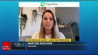 Pénurie d'nfirmières au Québec : entrevue avec Martine Boucher