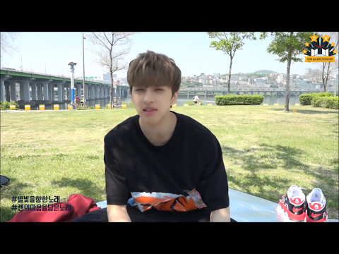 [VIXX] KEN Singing 'Cherry Blossom Ending' While Drawing ^^