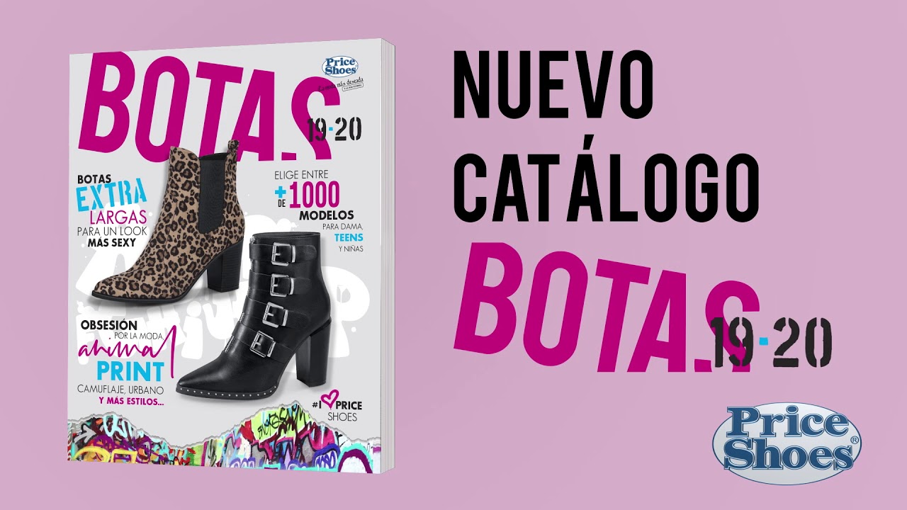 BOTAS PRICE SHOES Catalogo 2019 20 | Botas en Price Shoes