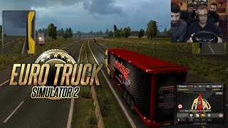 Θα σκοτωθούμε! - Euro Truck Simulator 2 | TechItSerious