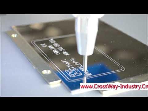Cheap Metal steel Marking Engraving machine