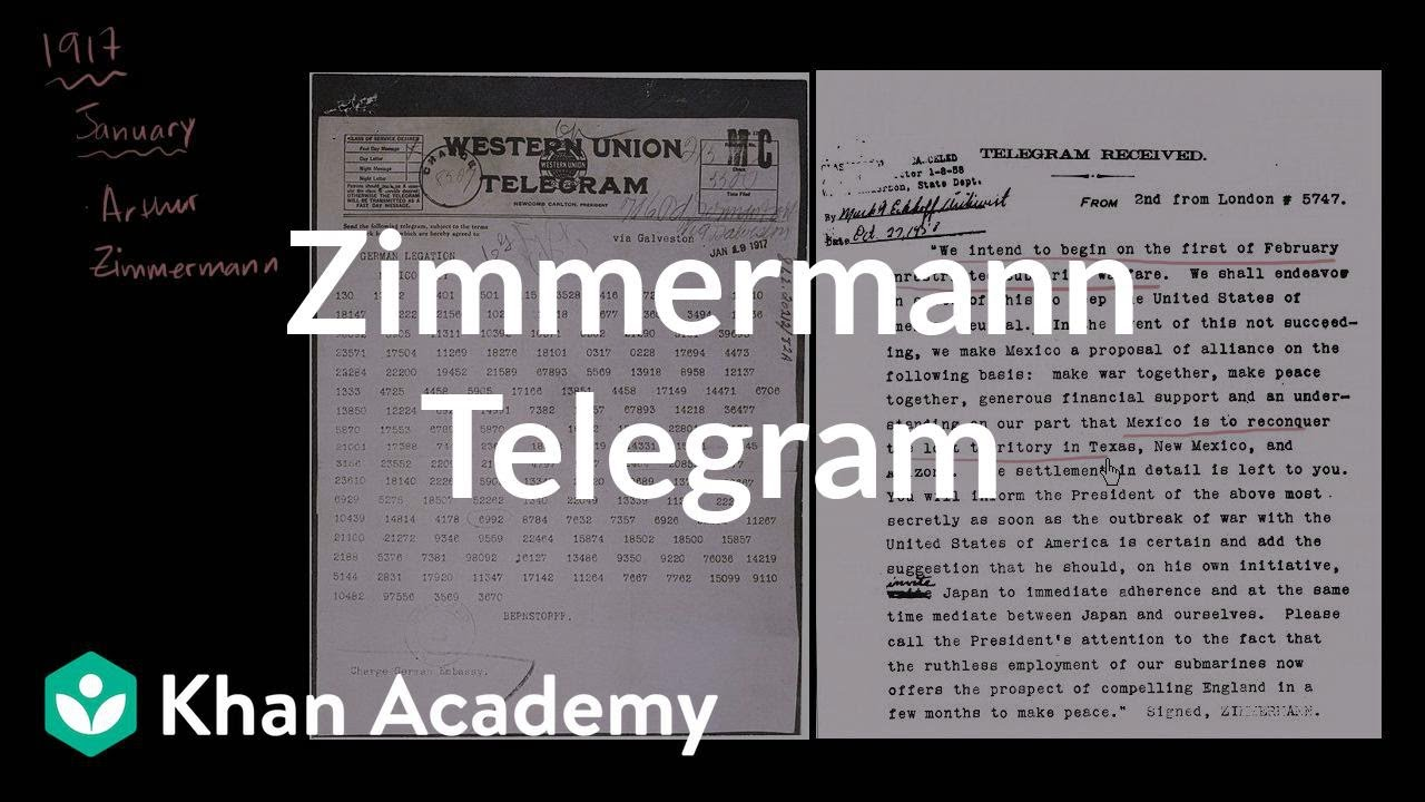 Zimmermann Telegram Zimmermann Telegram | ...
