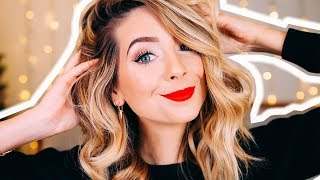 GRWM: Everyday Festive Glam Look | Zoella