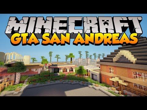 Minecraft Mapas: GTA San Andreas (Los Santos)