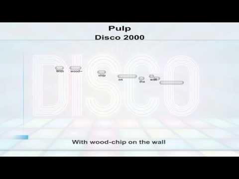 Pulp - Disco 2000 - karaoke