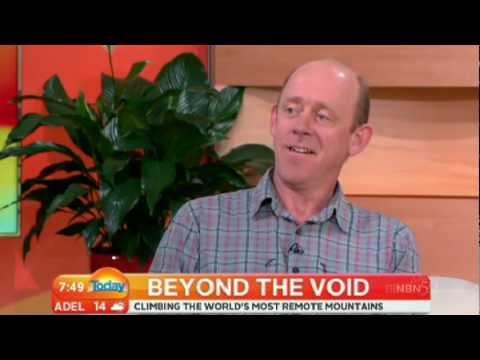 Mountaineer Simon Yates on Weekend Today - 1 Jul 2012