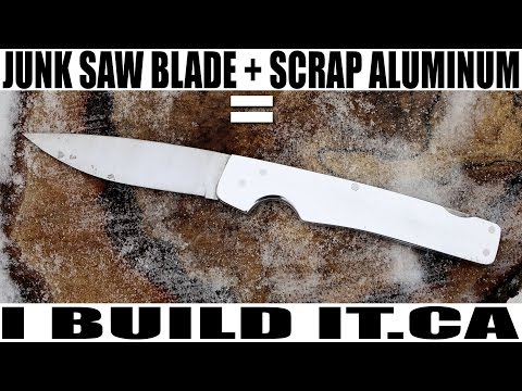 How to Make a Folding Knife with Basic Tools