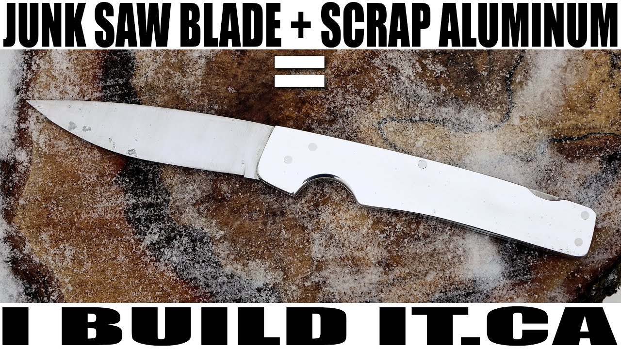 picture regarding Printable Folding Knife Templates called How toward Create a Folding Knife with Uncomplicated Applications