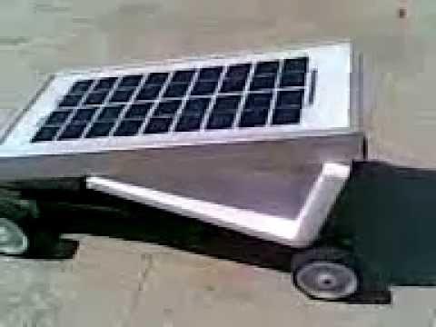 SOLAR CAR SMALL  IAR  INSTITUTE OF ADVANCED ROBOTICS