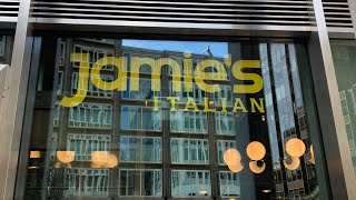 Jamie's italian London Victoria street restaurant
