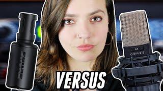 Tiny Microphone Versus Pro Studio!