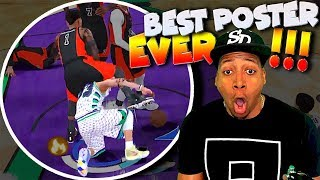 BEST POSTER EVER In NBA 2K18 - Playmaking Slasher Gameplay