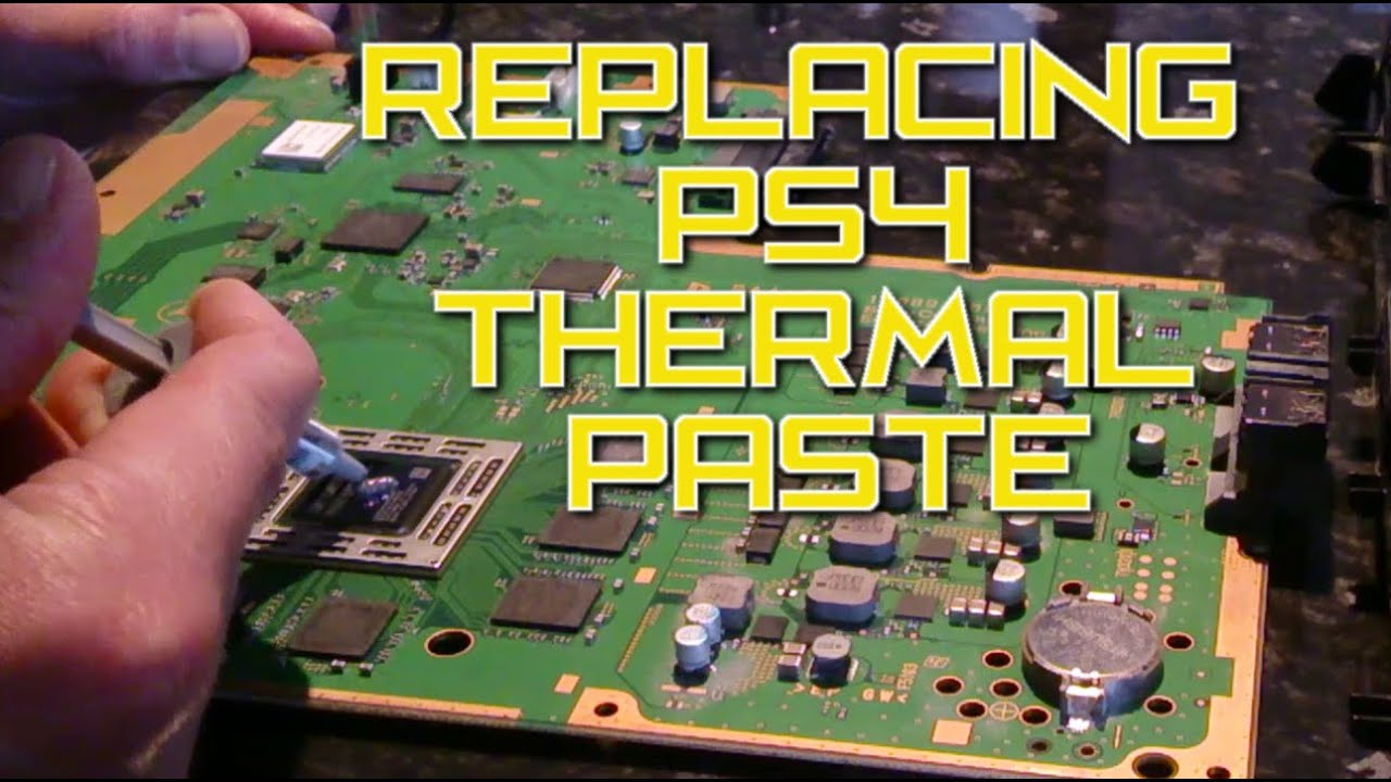PS4 Too Loud - How to Replace Your PS4 Thermal Paste