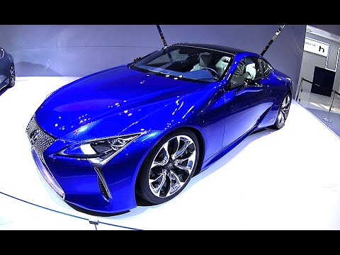 2016, 2017 Lexus LC-500h, Fuel Efficient Version Of The High Performance LC Luxury Coupe