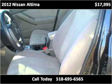 2012 Nissan Altima Used Cars Saratoga Springs NY - YouTube